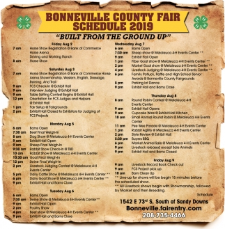 2016 Bonneville County Fair