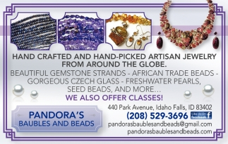 Hand Crafted and Hand-Picked Artisan Jewelry