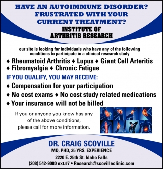 Have an Autoinmune Disorder?