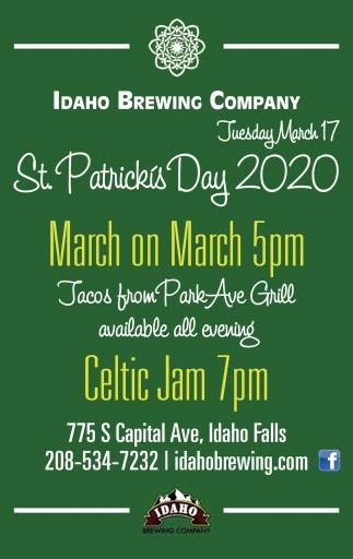 St. Patricks Day 2020