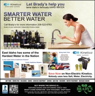Smarter Water