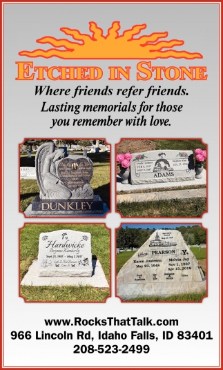 Where friends refer friends. Lasting memorials for those you remember with love
