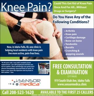 Knee Pain?