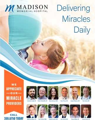 Delivering Miracles Daily