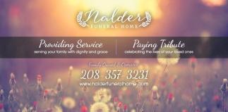 Providing Service
