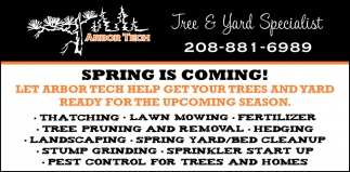 Tree & Yard Specialist