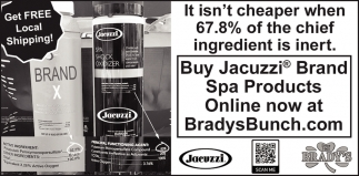 Buy Jacuzzi Brand Spa Products