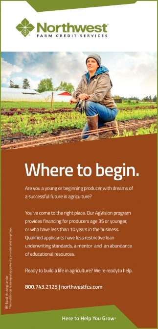 Are you a young or beginning producer with dreams of a successful future in agriculture?