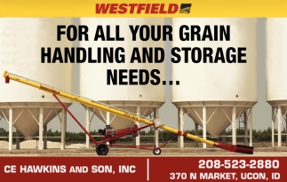 For all your grain handling and storage needs...