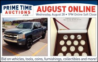 August Online - August 28