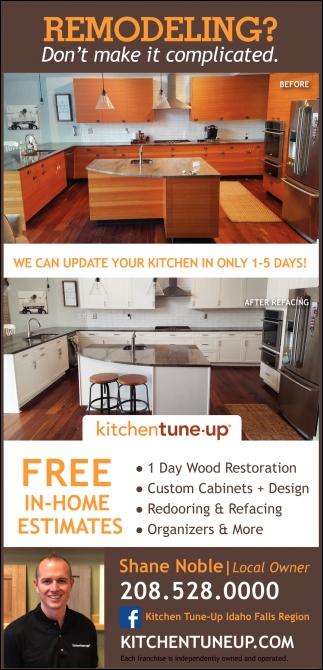 Kitchen Remodeling, Refacing, Cabinets, Bathroom Remodeling, Wood Restoration