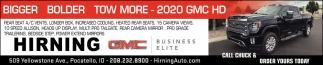 2020 GMC HD