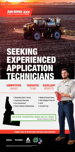 Experienced Application Technicians