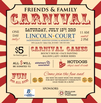 Friends & Family Carnival