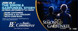 Join us at The Simon & Garfunkel Story