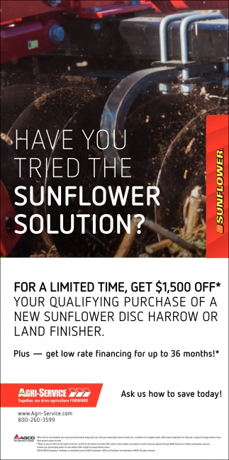 Have you tried the sunflower solution?