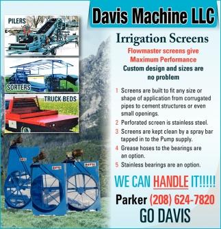 Irrigation Screens