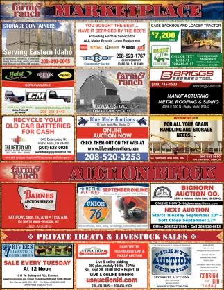 Marketplace / Auction Block