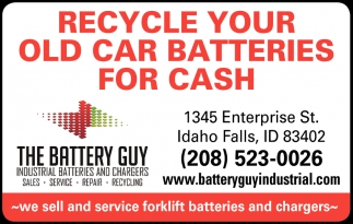 Recycle Your Old Car Batteries For Cash