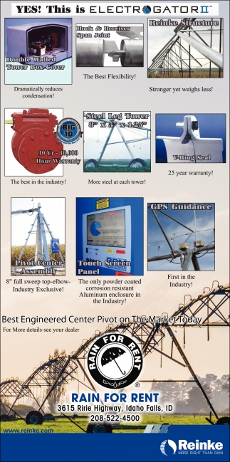 Best Engineered Center Pivot on The Market Today