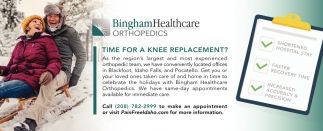 Time for Knee Replacement?