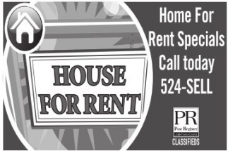 Home For Rent Specials