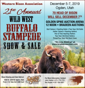 Western Bison Association