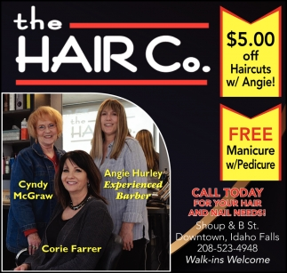 Call today for your hair and nail needs