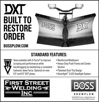 DXT Built to Restore Order