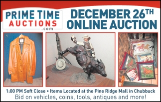 December 26th Community Auction