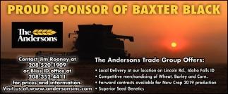 Proud Sponsor of Baxter Black