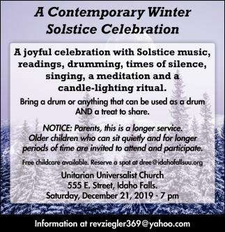 A Contemporary Winter Solstice Celebration