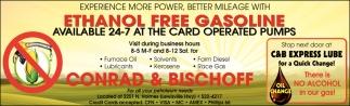 Ethanol Free Gasoline
