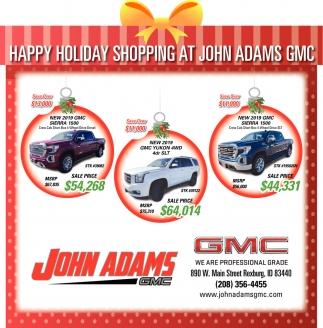 Happy Holiday Shopping
