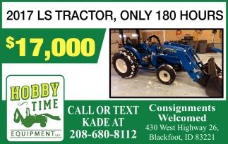 2017 LS Tractor $17,000