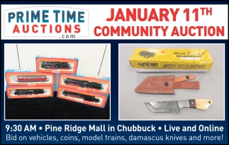 January 11th Community Auction