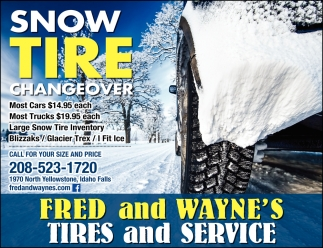 Snow Tire Changeover