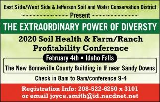 2020 Soil Health & Farm/Ranch Profitability Conference