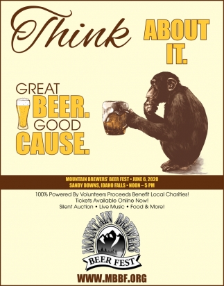 Great Beer. Good Cause