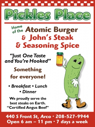 Home of the Atomic Burger