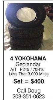 4 Yokohama Geolandar