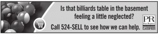 Call 524-SELL to see how we can help
