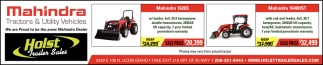 Mahindra Tractors & Utility Vehicles