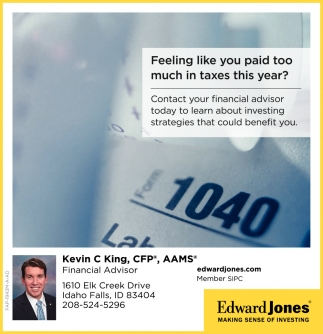 Kevin C King, CDP, AAMS