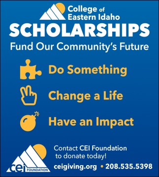 Scholarships Fund Our Community's Future