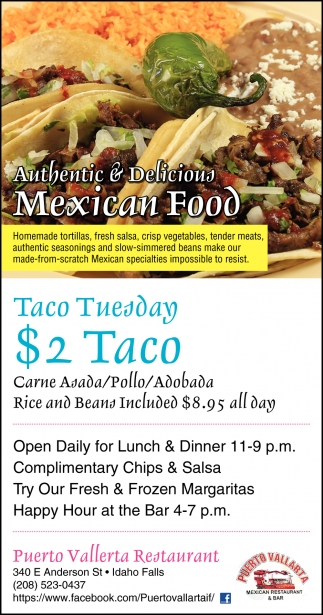 Authentic & Delicious Mexican Food