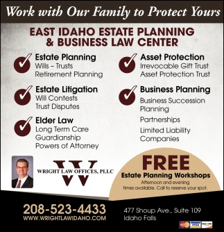 FREE Estate Planning Workshops